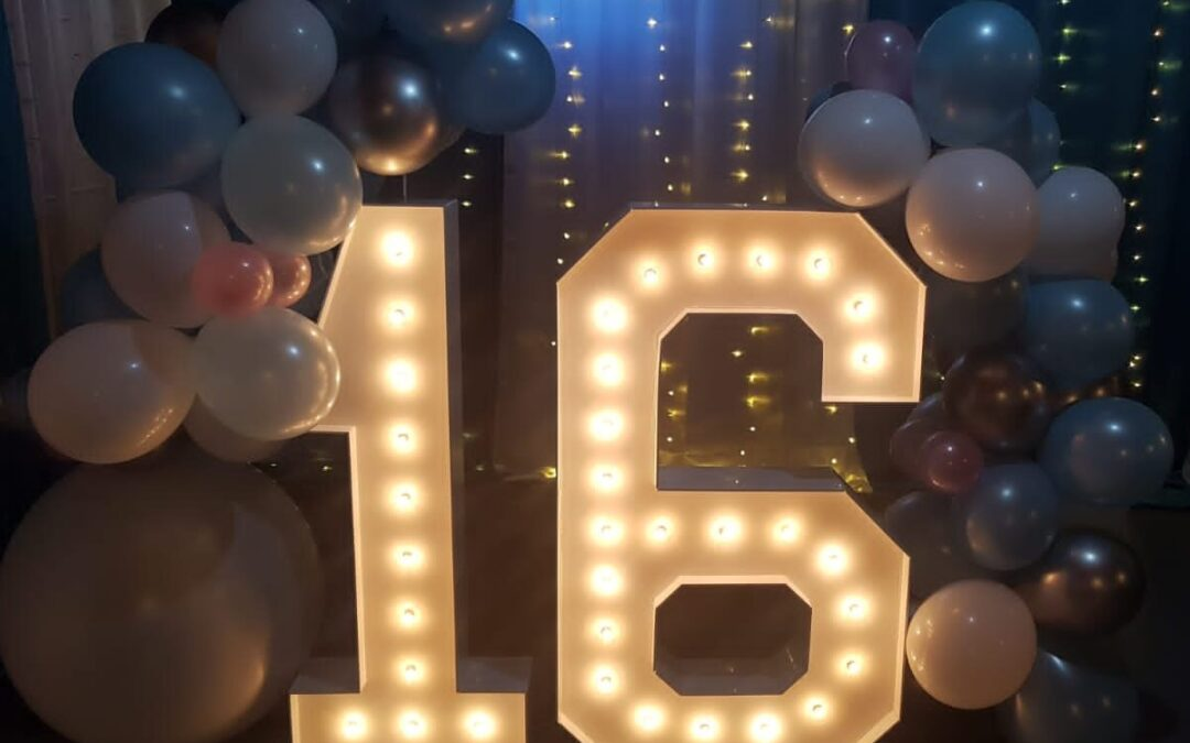 Birthday Marquee Lights in Tampa