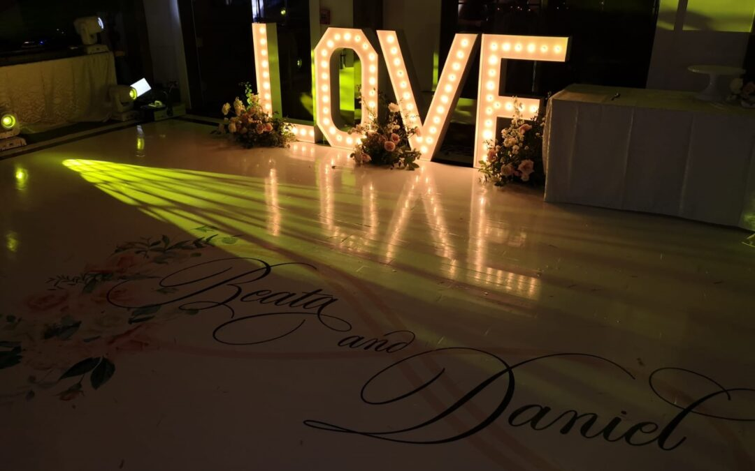 Wedding Marquee Letter Rentals in Tampa