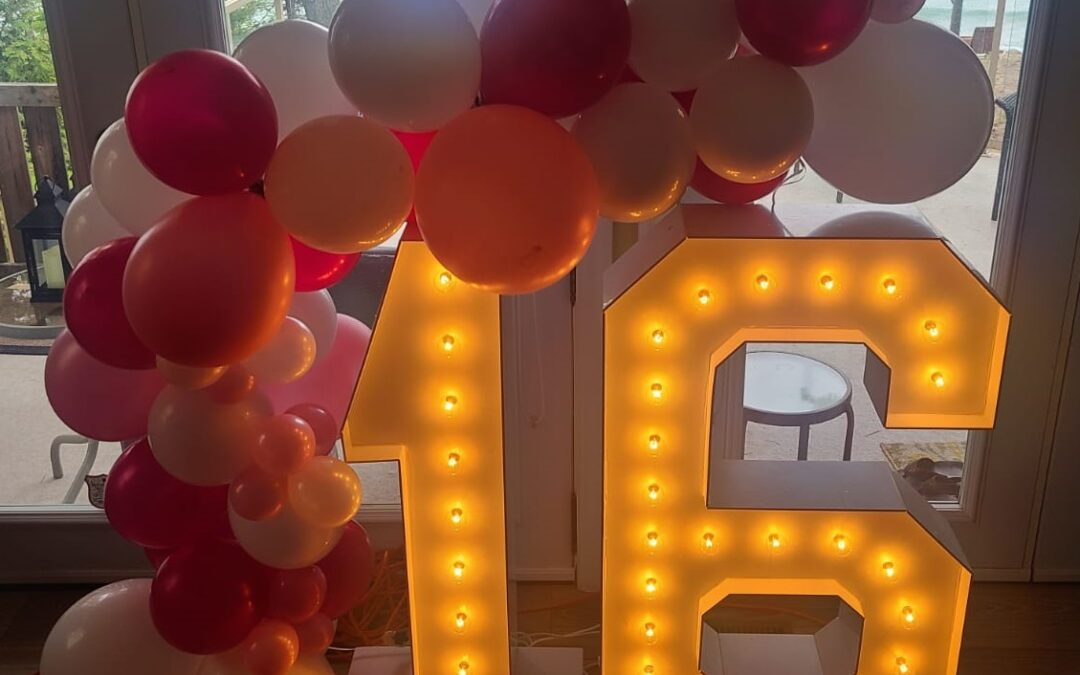 Sweet 16 Decorations in Orlando